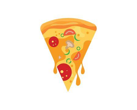 pizza icon logo illustration vector design ЛОГОТИПЫ