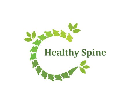 Spine diagnostics icon template vector illustration design 向量圖像