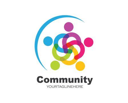 leadership,community,social and company icon vector design
