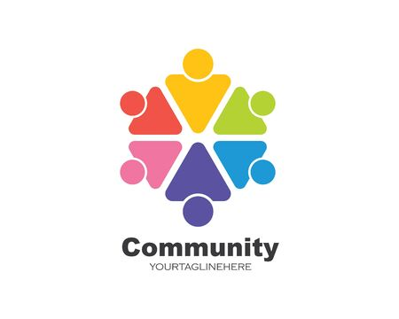 leadership,community,social and company icon vector design