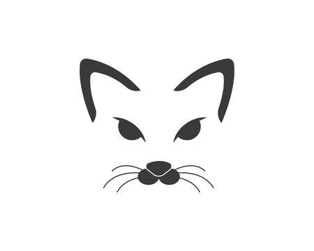 Cat breeds cute pet animal set vector illustration Illustration