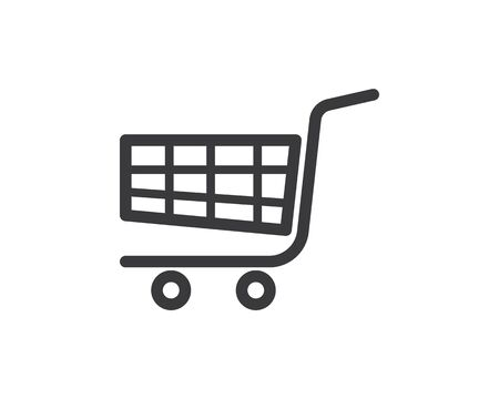 shopping basket icon vector illustration design template Иллюстрация