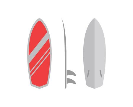 surfing icon logo vector illustration design