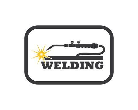 welding icon vetor illustration design template