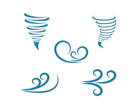 wind icon logo vector illustration design Zdjęcie Seryjne - 128998296