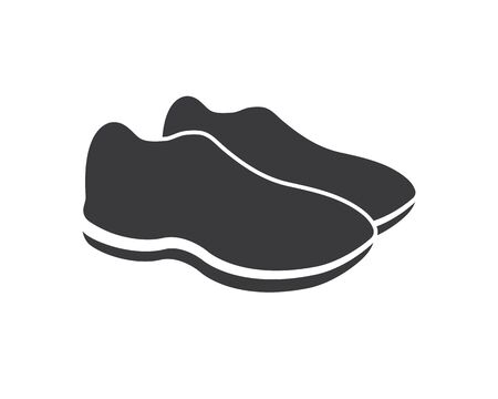 shoes icon logo vector illustration design template