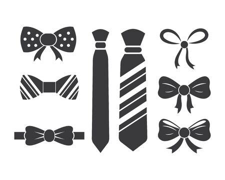 bow tie icon vector illustration design template