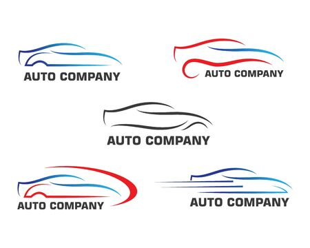 cars icon logo illustration vector template concept