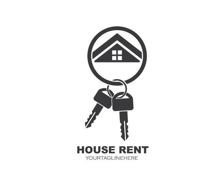 icon of house rent vector illustration design Ilustração