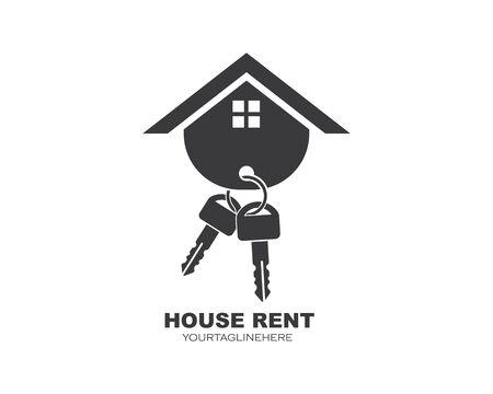 icon of house rent vector illustration design Illustration