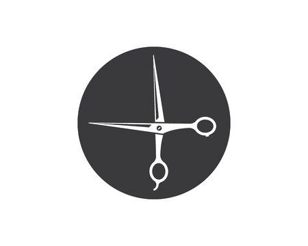 scissor icon vector illustration template