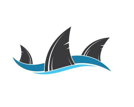 shark fin icon vector illustration design Фото со стока - 130156691