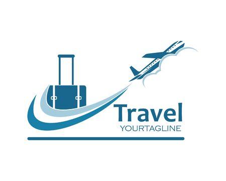 travel  icon logo vector illustration design Ilustração