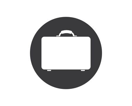 suitcase icon vector illustration design Illusztráció