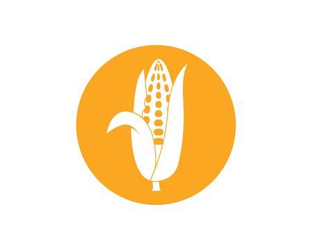 corn vector icon illustration design template