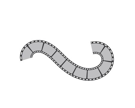 filmstrip vector illustration design template Vecteurs