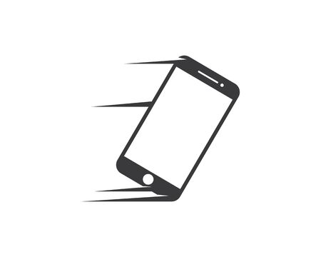 smartphone logo icon vector illustration design template Illustration