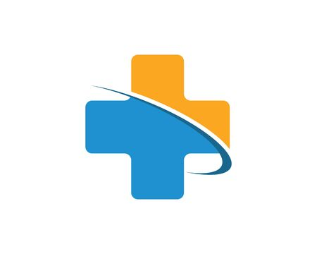 medical cross icon vector illustration design template