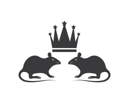 mouse vector icon illustration design template