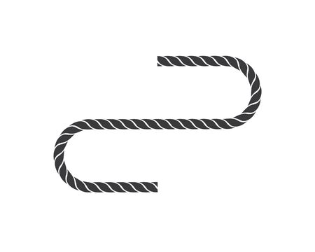 rope vector icon illustration design template