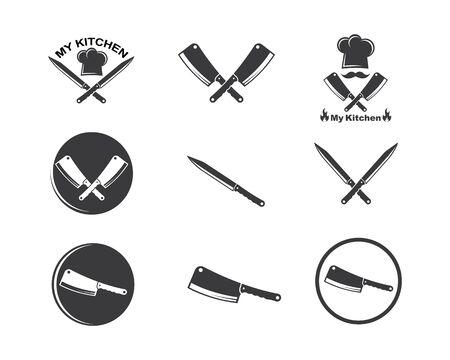 knife icon vector illustration design template