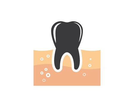 tooth  vector illustration design template Ilustrace