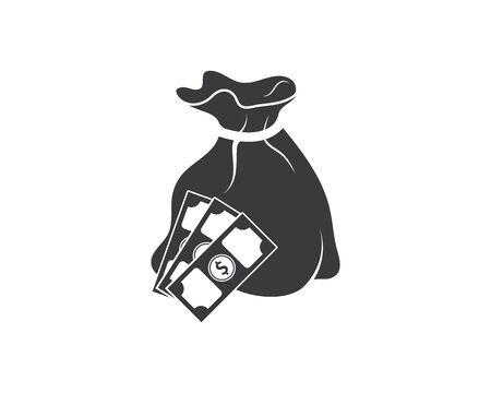 money logo icon vector illustration design