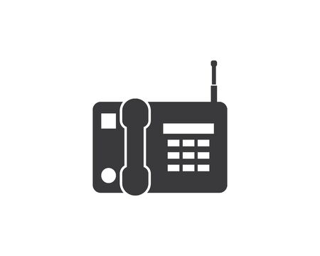 phone icon vector illustration design template