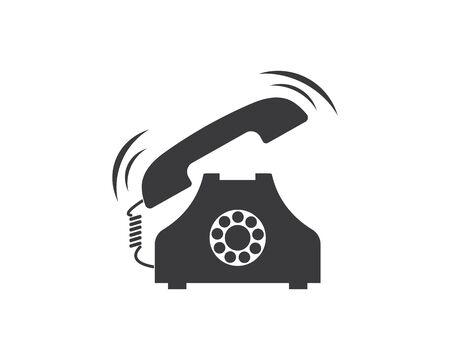 phone icon vector illustration design template