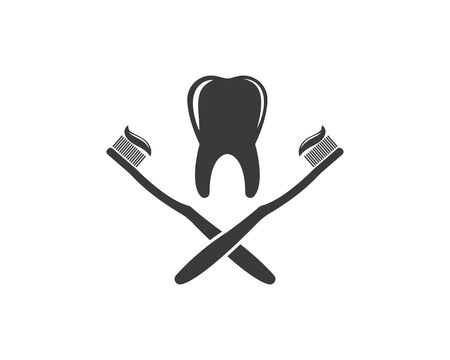 tooth  vector illustration design template  イラスト・ベクター素材