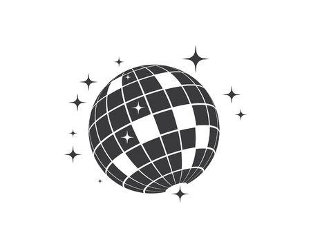 disco ball icon vector illustration design template Standard-Bild - 132172867