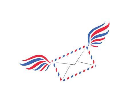 mail icon vector illustration design template Иллюстрация