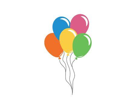 ballon icon vector illustration design template