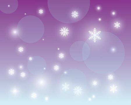 snowflake logo icon vector illustration background design template