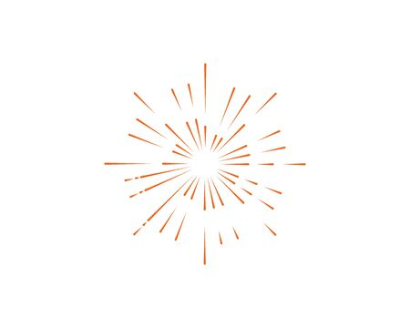 firework vector illustration icon design template Foto de archivo - 133701764