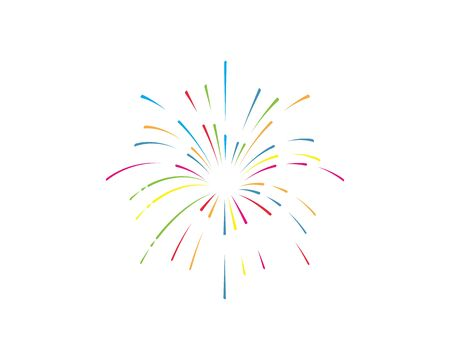 firework vector illustration icon design template Foto de archivo - 133701765
