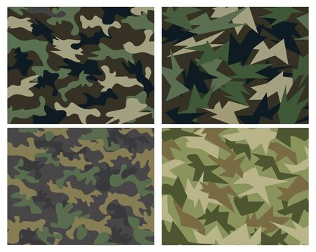camouflage military textured background vector design template