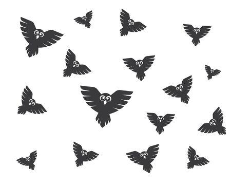 owl icon vector illustration design Illustration