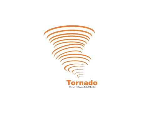 tornado vector icon illustration design template