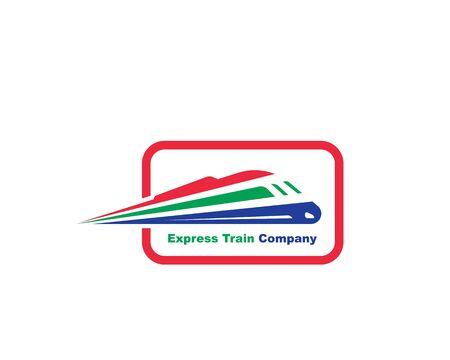 plantilla de diseño de ilustración de icono de vector de tren