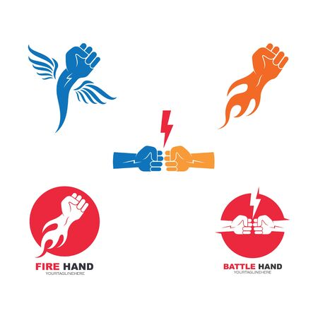 strong hand icon vector illustration design