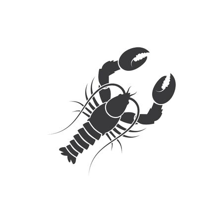 lobster icon vector illustration design template