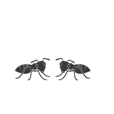 Ant vector icon illustration design template