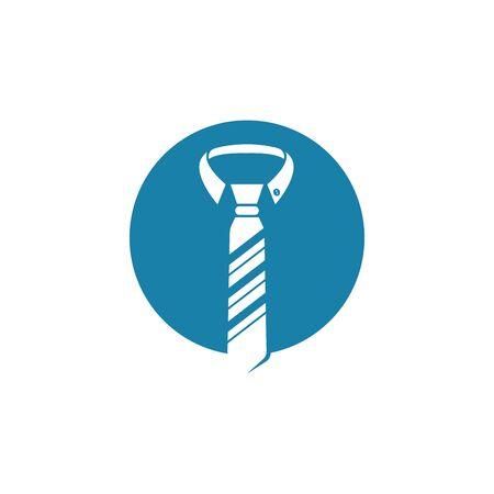 necktie vector illustration design template