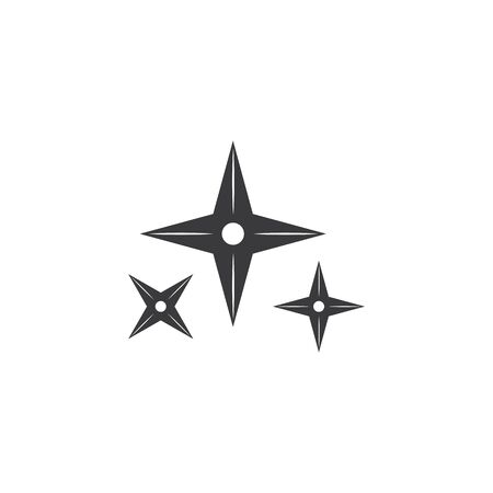 ninja weapon vector icon illustration design 向量圖像