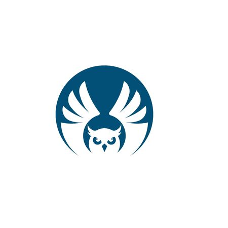 owl icon vector illustration design Ilustracja