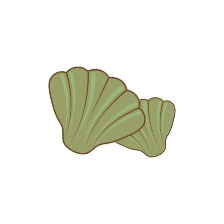 clams vector icon illustration design template
