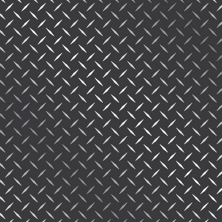 diamond plate metal texture background vector design template Vector Illustratie