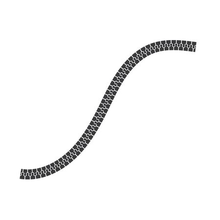 zip icon vector illustration design template