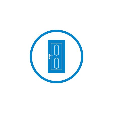 the door  icon vector illustration design template 일러스트